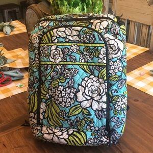 Vera Bradley Laptop Backpack in Island Blooms